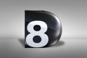 Logo C8 D8 Live
