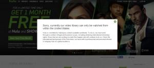 Hulu.com en France VPN