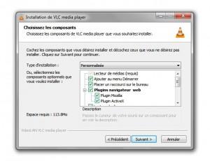 Plugin ActiveX VLC