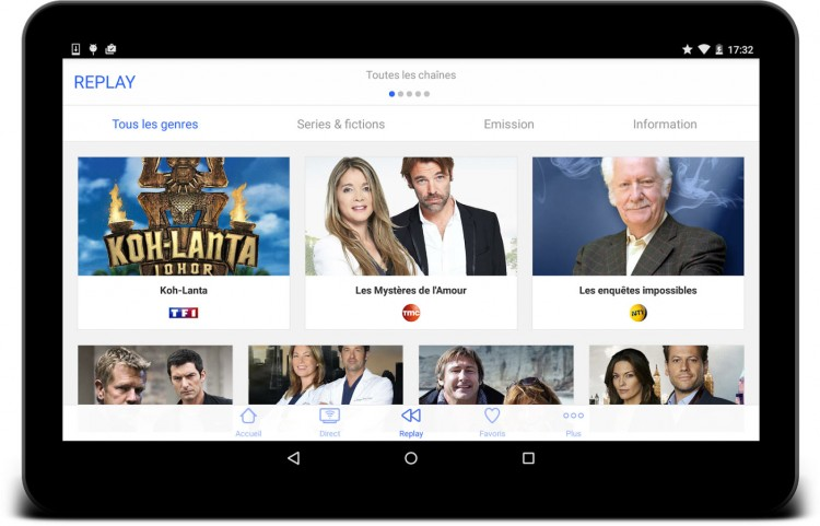Application TV MyTF1
