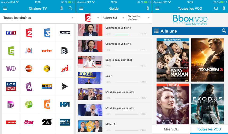 Application B.tv