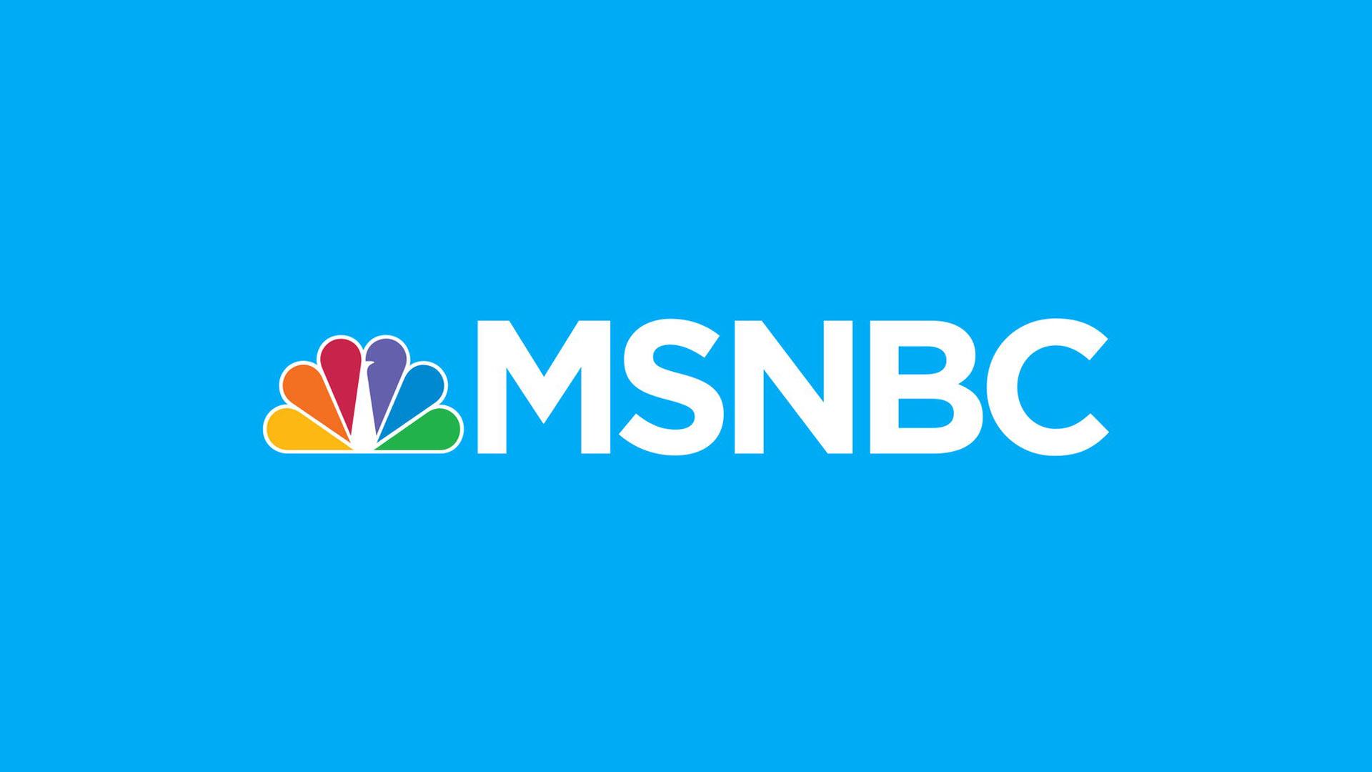 Logo MSNBC en direct
