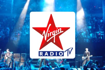 Logo Virgin radio TV Live